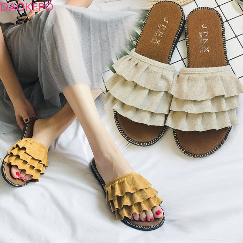 2018 Summer Women Sandals Flips Flops Style Shoes Moda Mujer - Zapatos de mujer