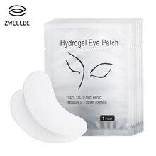 50 Paren/pak Nieuwe Papier Patches Eyelash Under Eye Pads Lash Eyelash Extension Papier Patches Eye Tips Sticker Wraps Make Up Tool