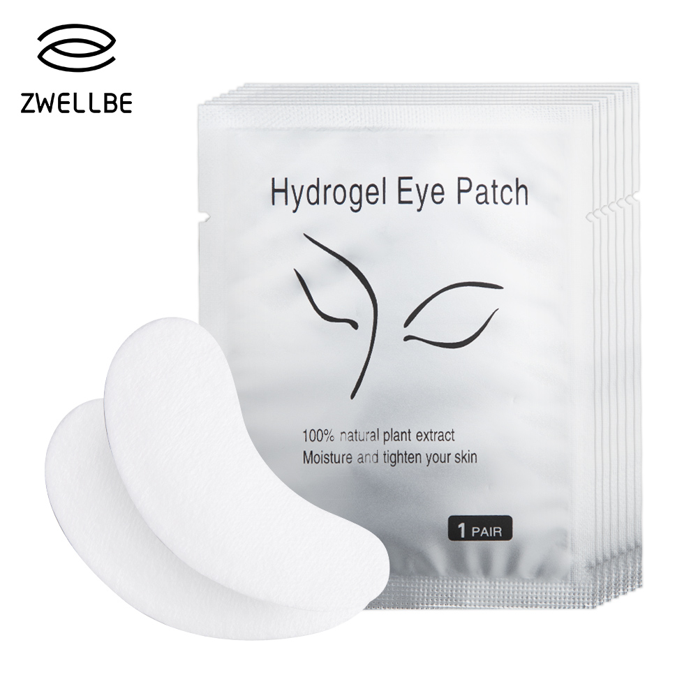 50pairs/pack New Paper Patches Eyelash Under Eye Pads Lash Eyelash Extension Paper Patches Eye Tips Sticker Wraps Makeup Tool(China)