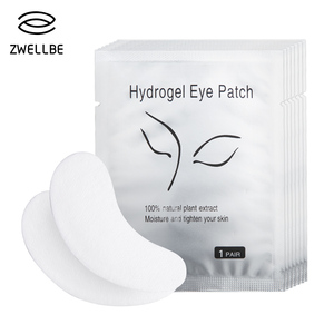 Image 1 - 50pairs/pack New Paper Patches Eyelash Under Eye Pads Lash Eyelash Extension Paper Patches Eye Tips Sticker Wraps Makeup Tool