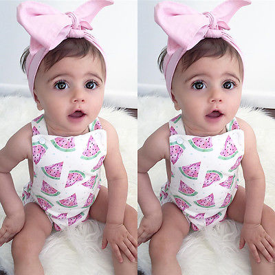 Newborn-Toddler-Infant-Baby-Girl-Watermelon-Sleeveless-Romper-Jumpsuit-Headband-Outfit-Sunsuit-Clothes-3