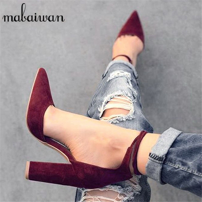2017 New Sexy Black Women Sandals Lace Up Gladiator High Heels 9CM Women Pumps Wedding Dress