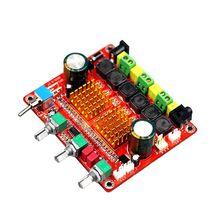 TPA3116D2 2.1 CH Classe D 100 W + 50 W + 50 W HIFI Subwoofer Amplificador Digital amp Board