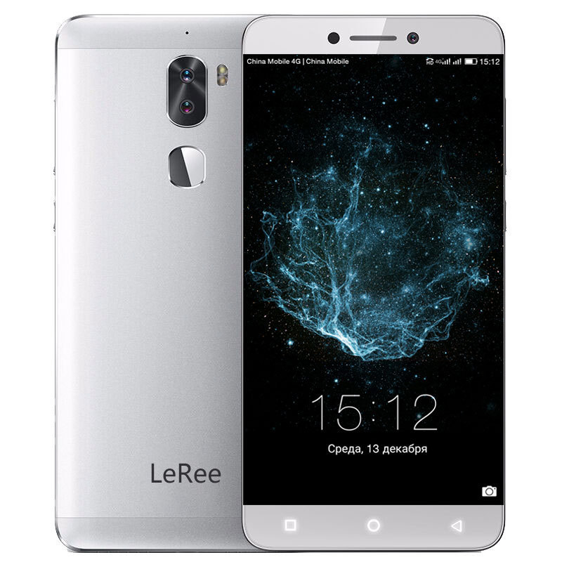Letv LeRee Le 3 Mobile Phone Dual Camera 13MP Snapdragon 652 Android 6.0 3GB 32GB 4000mAh Fingerprint 5.5 Inch Smartphone