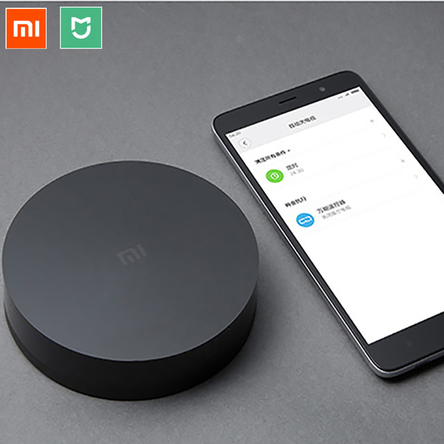 Original Xiaomi Universal Smart Remote Controller IR WIFI Remote Switch 360degree APP Smart Timing Control
