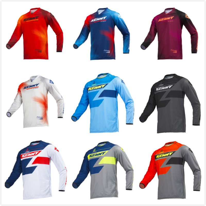 NEW 2019 Quick dry Kenny Moto Jersey MX bike Bike Motocross Jersey BMX DH MTB T shirt moto Clothing