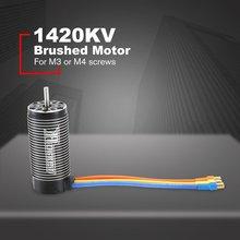 цена на Rocket 4092 1420KV Brushless Sensorless Motor 4 Pole Sensorless Motor For 1/8 RC Drift Racing Model Car Parts