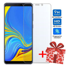 ZOKTEEC Tempered Glass For Samsung Galaxy A2 Core Screen Protector Glass Film ON for Samsung A6 A8 Plus 2018 Tough Protection(China)