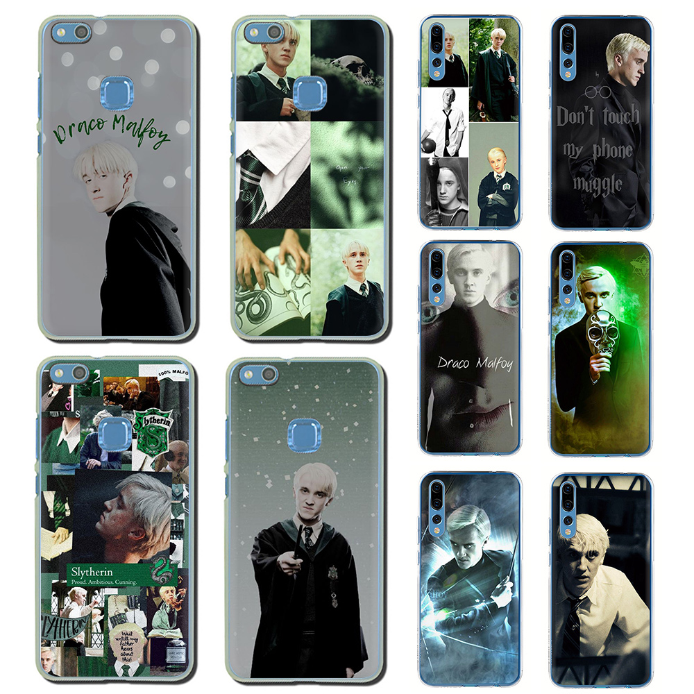 Draco Malfoy Hard Phone Cover For Huawei Honor 6A 6C 7A 7C 7X 8 8X 8C 9 10 Lite Play View 20 9X Pro