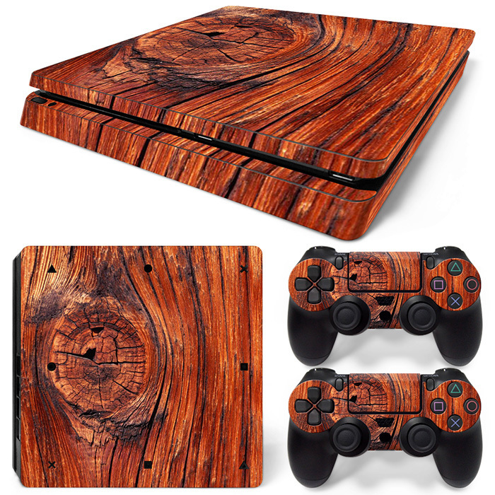 Decorative Game Skin Decal Cover Sticker for PS4 Slim Console