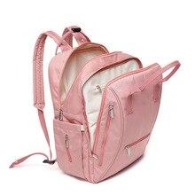 Korean version of the lightweight travel bag diaper waterproof zipper baby care trailer outdoor leisure shoulder