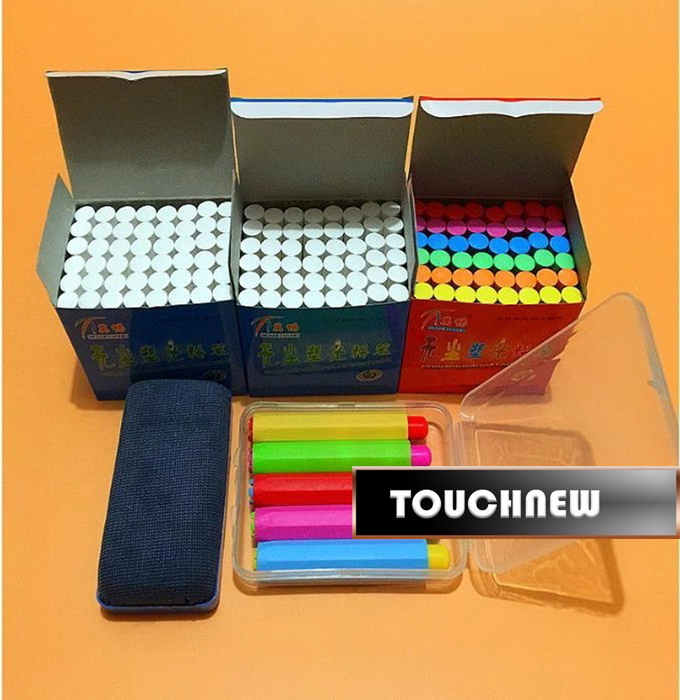 Free shipping/Clean non-toxic environmental health bright chalk/The teacher in class dedicated dustless chalk/151001/2 chalk 10pcs pack korea colorful chalk dust free chalk non toxic chalk