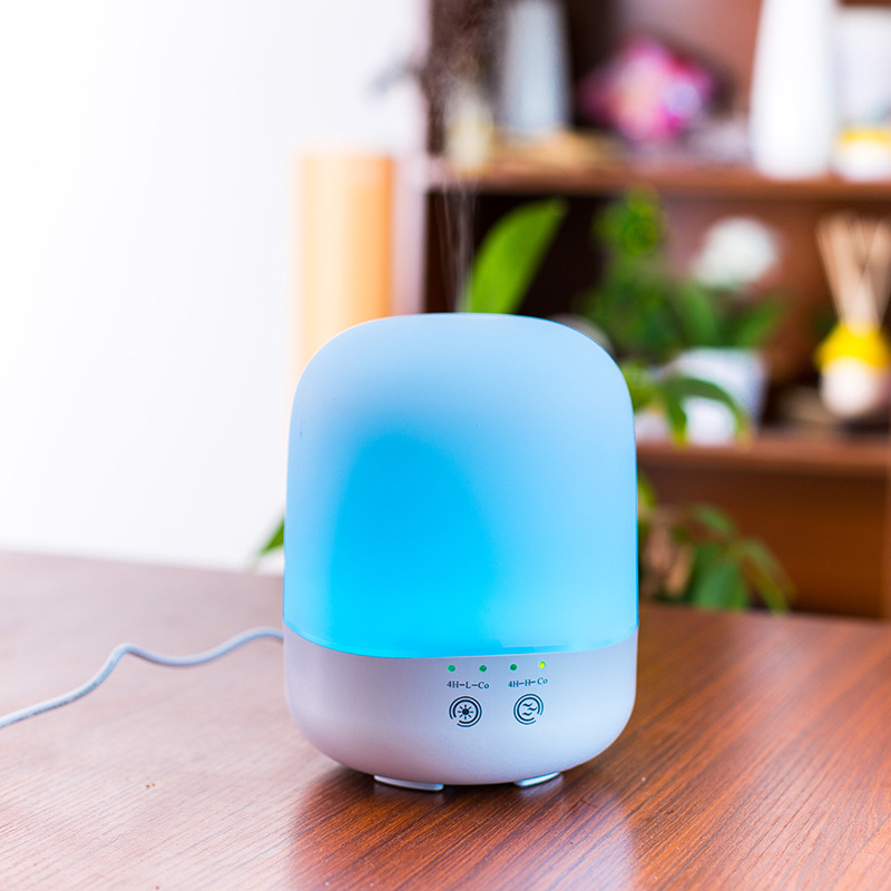 Ultrasonic Air Humidifier Aroma Diffuser 7 Color LED Nightlight Essential Oil Diffuser Mist Maker for Home Office Bedroom Spa remote control air humidifier essential oil diffuser ultrasonic mist maker fogger ultrasonic aroma diffuser atomizer 7 color led