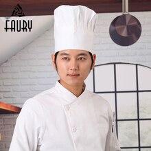 3 Colors Men Women Kitchen Baker Caps Adjustable Elastic Comfy Cooking Cafe Restaurant Work Wear Chef Hats
