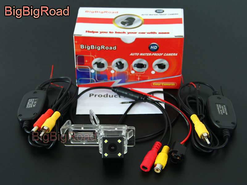 BigBigRoad For Twingo 2 II Laguna 2 3 X91 VelSatis X7 2007 2008 2009 2010 2011-2013 2014 Car Rear View Camera (6)