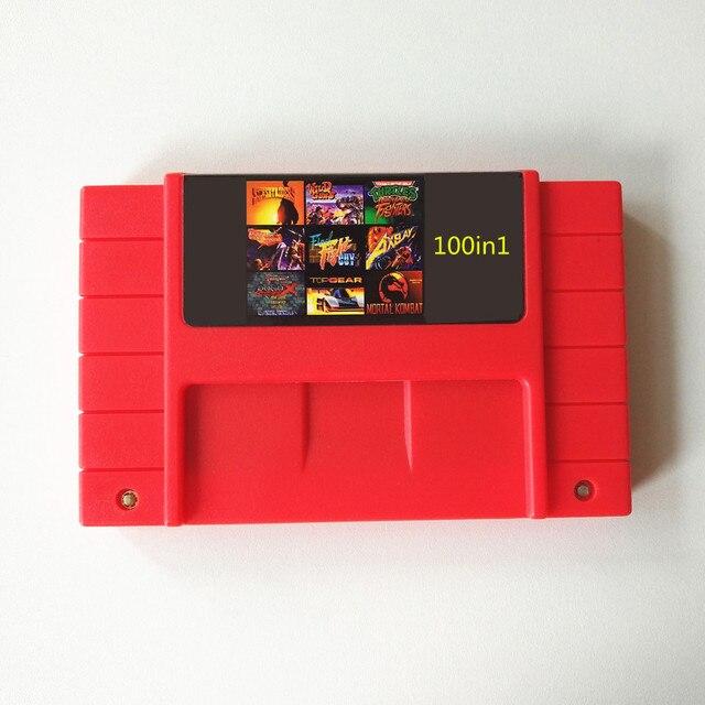 Super NES 100 in 1 Cartridge