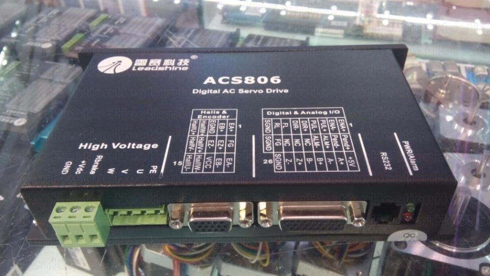 New Leadshine servo driver ACS806-3H2L Inkjet Printer and Photo machine CNC parts цена и фото