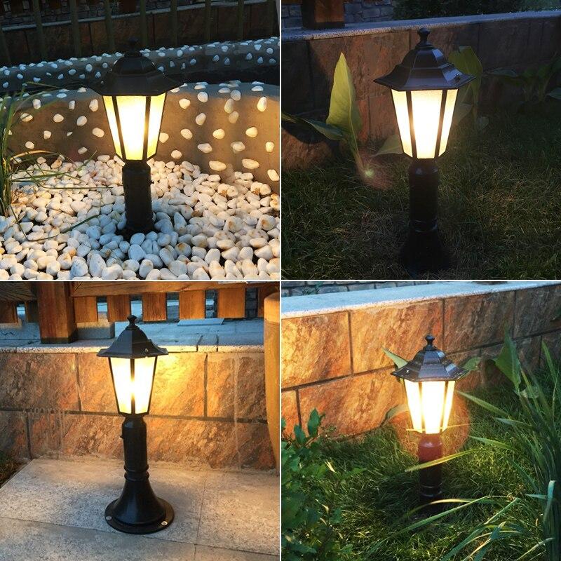 цена на Outdoor lantern lawn lamp Courtyard Villa Emergency waterproof grassland European road light garden led FG208