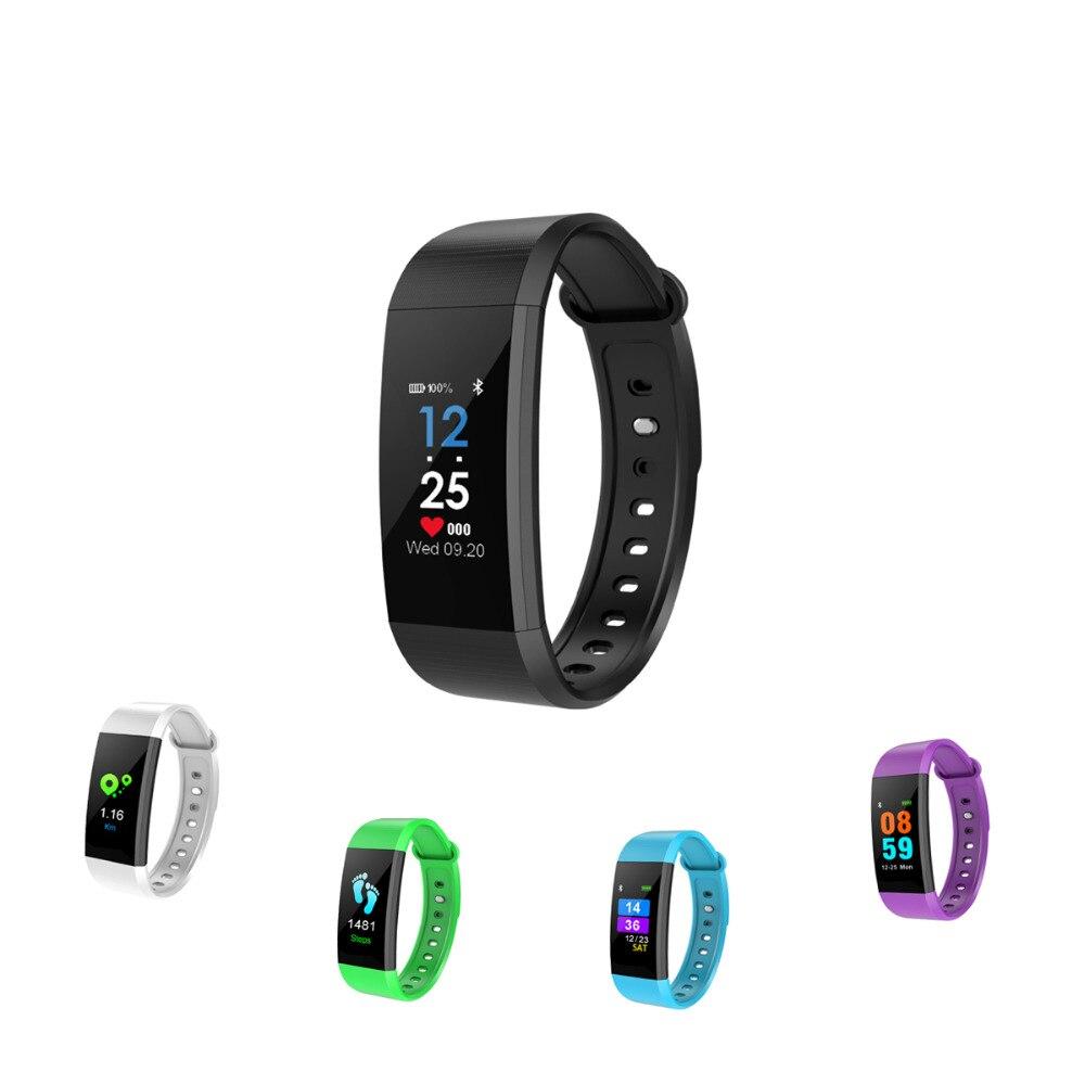 Fuloophi Smart Bracelet i9 IPS68 Étanche Écran Couleur Sport fitness tracker Smartband Pour IOS Android PK Xiaomi Mi bande 2