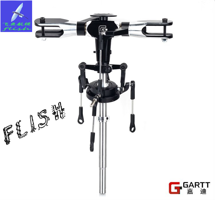 GARTT GT500 Flybarless Metal Main Rotor Head Assembly100% Fits Align Trex 500 RC Helicopter Big Sale gartt 500 pro metal main rotor head assembly fits align trex 500 helicopter hobby