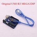 ATMEGA16U2 MEGA328P UNO R3 para arduino 100% original com Cabo USB Frete Grátis