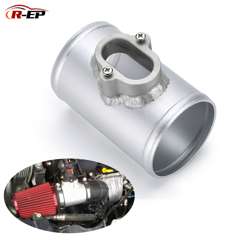 Air Mass Sensor Adapter Fit For CHEVROLET CRUZE OPEL ASTRA MAF Performance Air Intake Meter Mount for OE NO 1350543 2.75'' 3inch sensor air intake temp