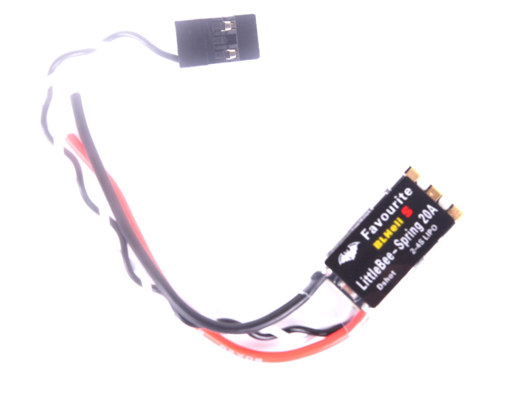 Original Favourite FVT LITTLEBEE BLlheli-s SPRING 20A 30A ESC 2-6S Supports Mulitshot DSHOT Oneshot42 OneShot125 Multicopter