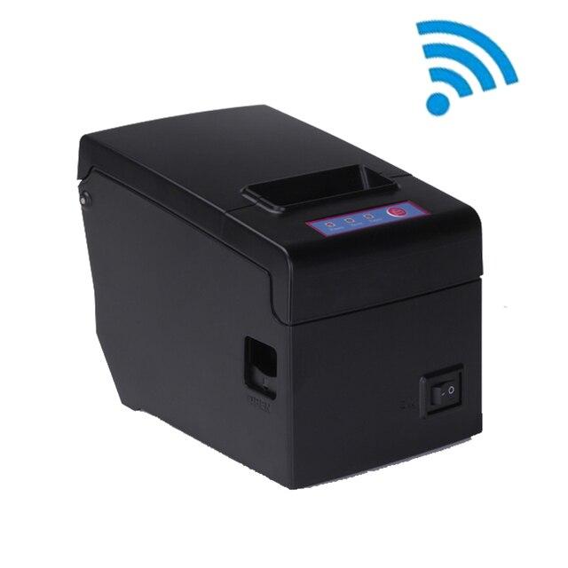 Тепловая 58 мм pos wi-fi принтер usb ресторан билл портативный принтер высокая скорость 130 мм/сек. большой шестерни большой бумаги склад новый дизайн