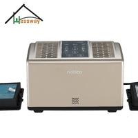 Dual core home portable air purifier air filter hepa with Air quality sensor