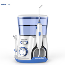 Waterpulse V300 800ML Dental Water Flosser 5pcs Nozzles Oral Dental Floss Teeth Cleaner irrigator Flosser 3 Colors