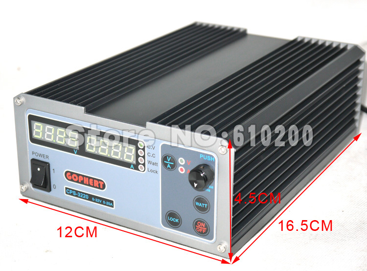 Freeshipping New Arrivals precision Digital Adjustable MINI DC Power Supply OVP/OCP/OTP 32V5A 110V-230V 0.01V/0.001A EU cps 6003 60v 3a dc high precision compact digital adjustable switching power supply ovp ocp otp low power 110v 220v