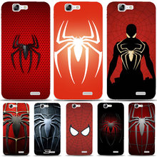 G568 Super Hero Spider-man Transparent Hard Thin Skin Case Cover For Huawei P8 P9 P10 Lite Plus 2017 Honor 8 Lite 9 6X(China)