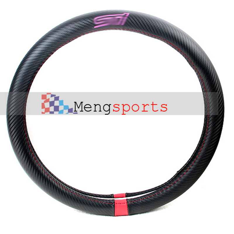 6pcs lots Steering Wheels Real Carbon Fiber Hubs SPORT Speed Rall Series Embelm Badges Car Styling Shipping Free