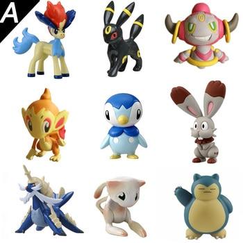 4 cm Original Lucario Fennekin eevee pika anime de dibujos animados de  acción y figuras de juguete modelo de juguete KEN HU tienda pokemones 3dd796ee7c47