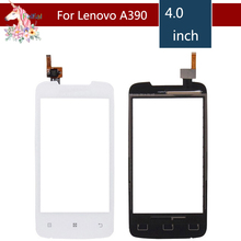 4.0 For Lenovo A390 A 390 LCD Touch Screen Digitizer Sensor Outer Glass Lens Panel Replacement 3 5 for nokia n8 n 8 lcd touch screen digitizer sensor outer glass lens panel replacement