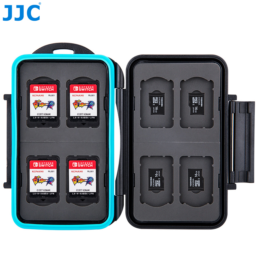 Switch Sd Karte.Us 10 44 5 Off Jjc Lagerung 8 Nintendo Switch Game Karte 8 Micro Sd Karte Fall Wasser Beständig Speicher Karte Fall In Jjc Lagerung 8 Nintendo