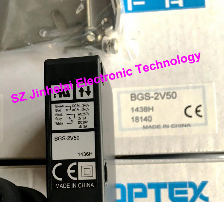 цена на New and original  BGS-2V50  OPTEX   PHOTOELECTRIC SWITCH  Photoelectric sensor