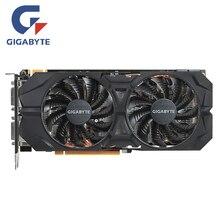 GIGABYTE видеокарты GTX 960 2 Гб 128 бит GDDR5 2GD5 видеокарта для nVIDIA Geforce GTX960 N960WF2OC-2GD Hdmi Dvi карты