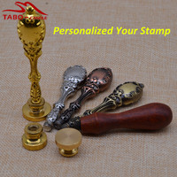 Personalized Sealing Wax Stamp With Custom Made Logo Design For Individual Envelope Letter Decoration