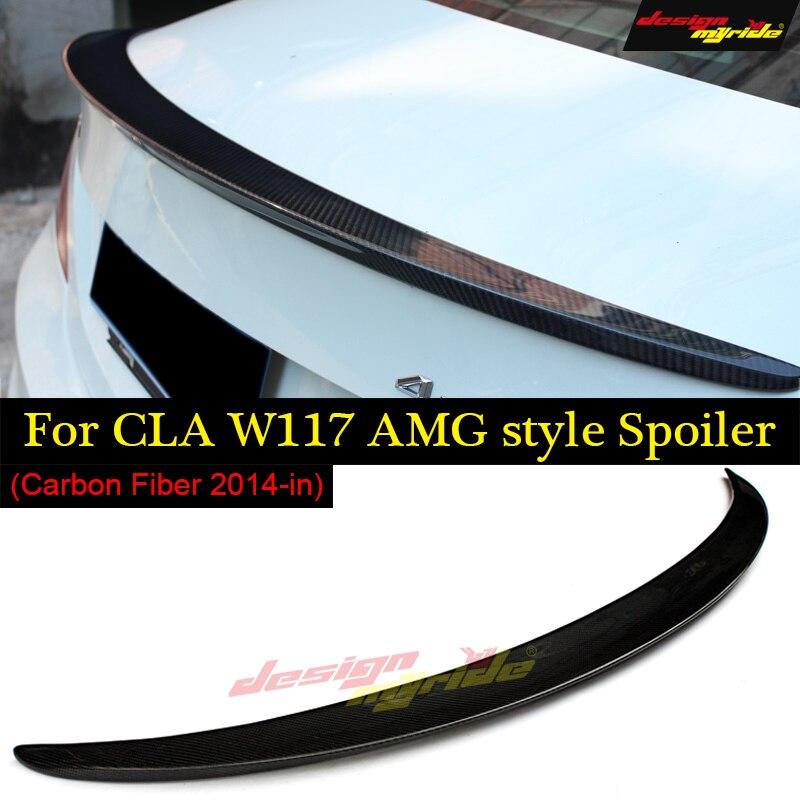 CLA classe W117 remplacement cf aileron de coffre arrière style AMG pour Mercedes Benz CLA180 CLA200 CLA250 CLA A45 AMG 2014-2018
