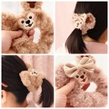 Cute Hot Sale Duffy Bear Shelliemay plush Toy Bear Series Peripheral Circle Velvet Hair Band Wrist Strap For Girls Birthday Gift