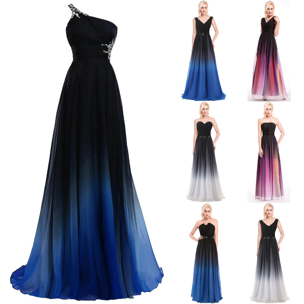 Popular Colorful Chiffon Prom Dresses-Buy Cheap Colorful Chiffon ...