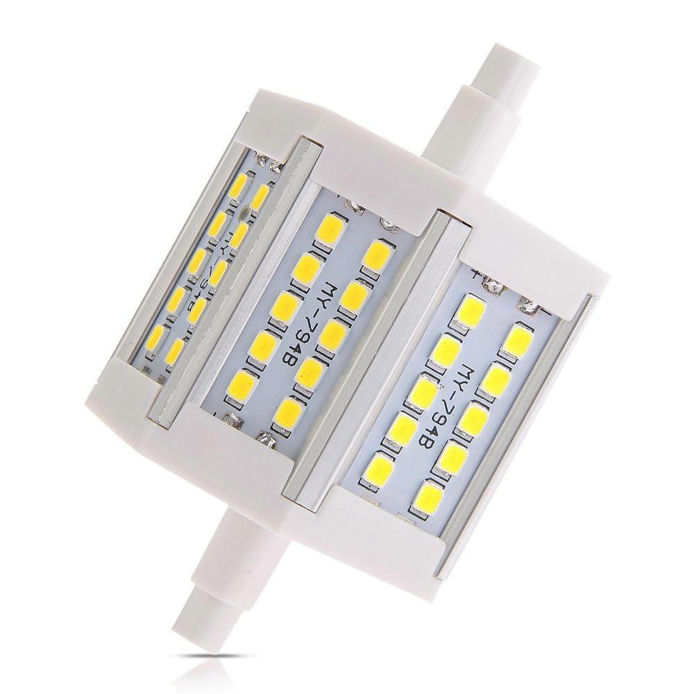 Smart R7s 6w 30 Smd Leds 2835 Light Lamp Spotlight Bulbs 540lm 6500k 78mm White Strengthening Sinews And Bones Led Strips Led Lighting