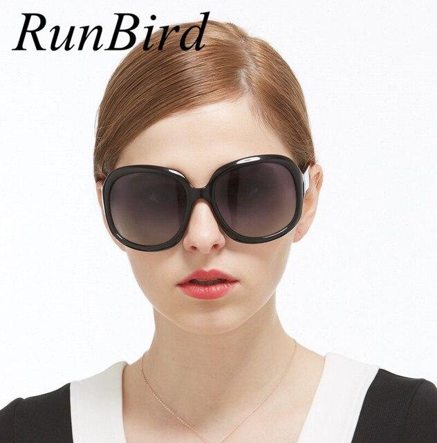 31e8add1c4 RunBird 2017 Polaroid Brand Designer Polarized Sunglasses Women Luxury  Oversized Vintage Sun glasses Oculos De Sol