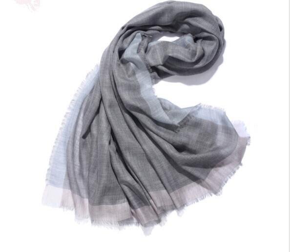 pure cashmere plaid women fashion soft scarf high quality