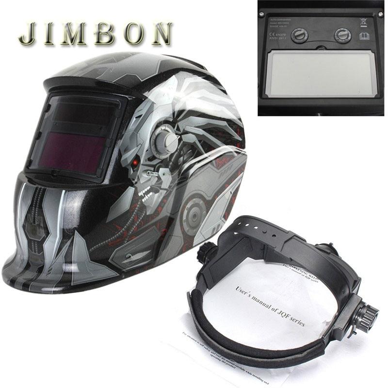 Skull Solar Auto darkening TIG MIG MMA Electric Welding Mask Helmet Welder Cap Lens For Welding Machine Cutter Free Shipping  цены