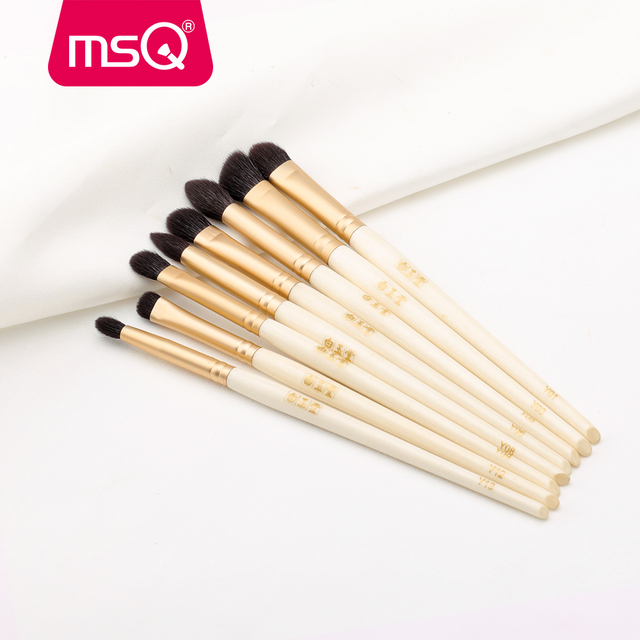 MSQ Single Eyes Makeup Brushes Set Eyeshadow Professional Concealer Blending Lip Beauty Make Up Brush Tools Goat Hose Hair 1
