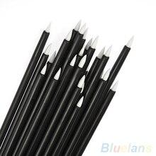 50Pcs Cosmetic Makeup Tool Disposable Eyeliner Liquid Wand Applicator Brush 7LPY