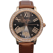 Diamond Cut Julius Lady Women's Watch Japan Quartz Hours Clock Fashion Dress Bracelet Large Leather Girl Christmas Gift Box 775