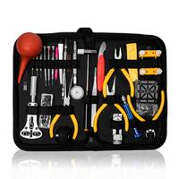 Professional Watch Case Holder Tools Set Clock Repair Tool Kit Opener Link Pin Remover Set Spring Bar Watchmaker Tools Set